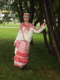 Северный костюм женский